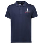 A53009-70R America's Cup Trophy Polo-Navy.Front