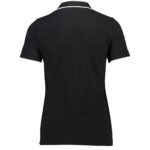 T63015-989 ETNZ Womens Supporter Polo-Black.Back