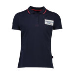 navy blue ss polo_Front